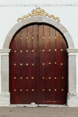 Photograph - The Doors Of San Juan The Baptist - 1 by Hany J