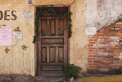 Photograph - The Doors Of Santa Lucia - 6 by Hany J