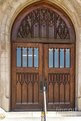 Photograph - The Doors Of Tolentine Hall by William Norton