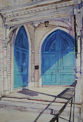 Painting - The Doors by P Anthony Visco
