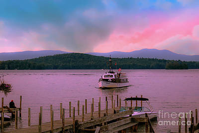Photograph - The Doris E - Lake Winnipesaukee by Mim White