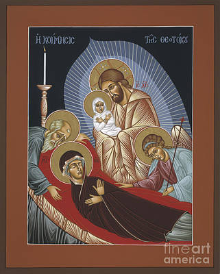 Painting - The Dormition Of The Mother Of God 029 by William Hart McNichols