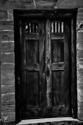 Photograph - The Double Door by Gina O'Brien