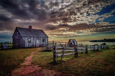 Photograph - The Doucet House by Chris Bordeleau