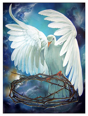 The Dove Art Print by Larry Cole