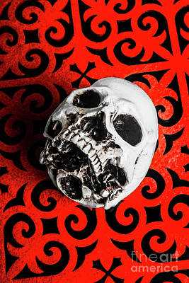Red Skull Wall Art - Photograph - The Downfall by Jorgo Photography - Wall Art Gallery