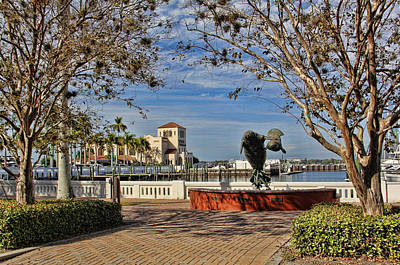 Photograph - The Downtown Bradenton Waterfront by HH Photography of Florida