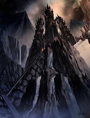 The Dragon Gate Art Print