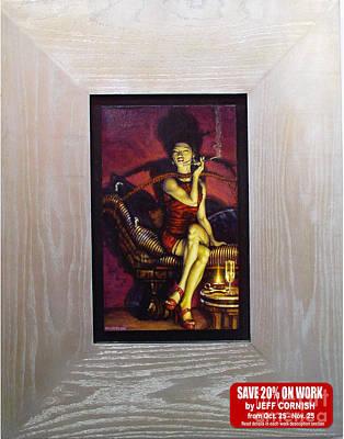 The Dragon Lady Original by Jeff Cornish