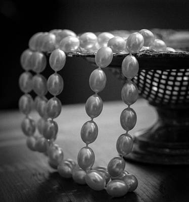 Photograph - The Drama Of Pearls by Patrice Zinck
