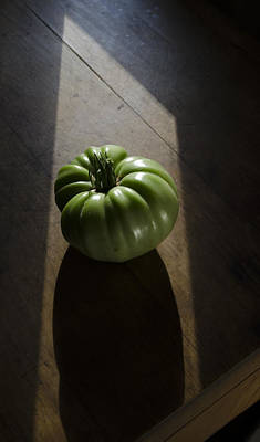 Photograph - The Dramatic Tomato - by Rae Ann  M Garrett