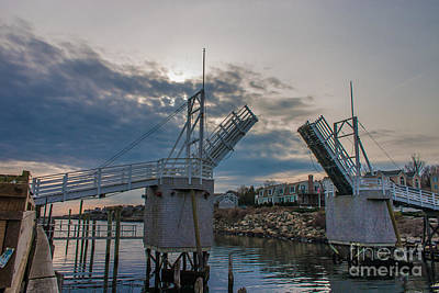 Photograph - The Drawbridge by David Bishop