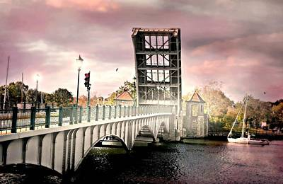 H Drew Photograph - The Drawing Bridge by Diana Angstadt