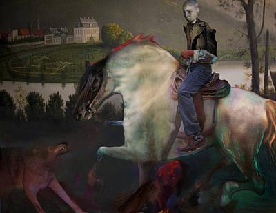 The Dream 1 Art Print by Henriette Tuer lund