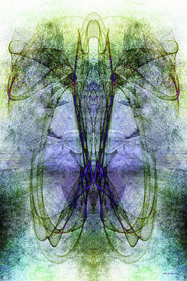 Digital Art - The Dream Beckons 2 by WB Johnston