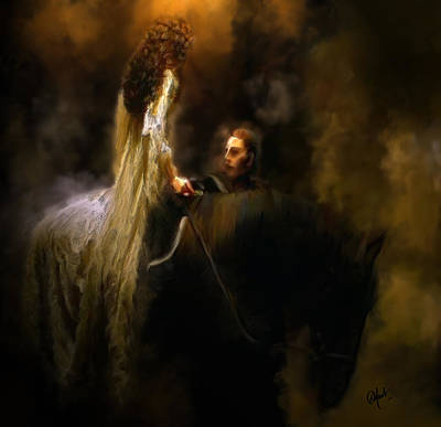 Horse Purse Painting - The Dream by Debora Nash
