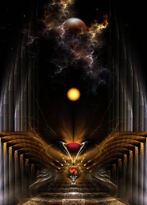 Digital Art - The Dream Oracle by Xzendor7