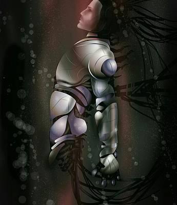 Digital Art - the Dreamer by Fabrizio Uffreduzzi