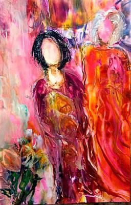 Mixed Media - The Dreamers by Brenda Robinson