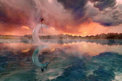 Reflections Digital Art - The Dreamery  by Betsy Knapp