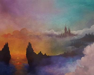 Painting - The Dreaming City by Stephanie Hollingsworth