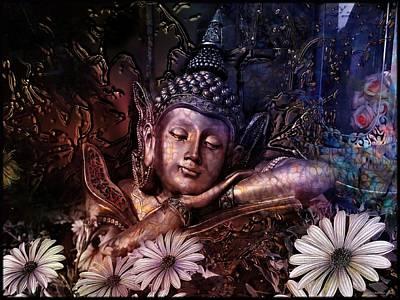 Buddha Photograph - The Dreams Of Buddha by Daniel Arrhakis