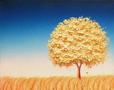 Modern Tree Painting - The Dreams We Carry by Rachel Bingaman