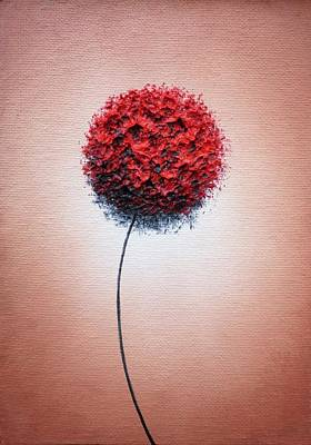 Small Abstract Painting - The Dreams We Forge by Rachel Bingaman