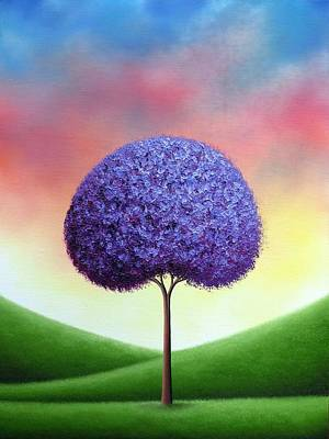 Rainbow Fantasy Art Painting - The Dreams We Whisper by Rachel Bingaman