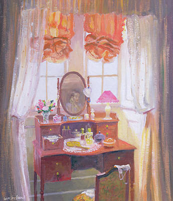 The Dressing Table Art Print by William Ireland