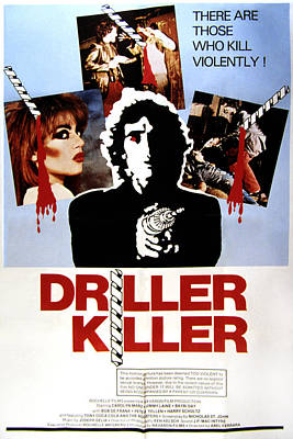 Postv Photograph - The Driller Killer, Abel Ferrara, 1979 by Everett