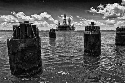 Photograph - The Drilling Platform by Linda Unger