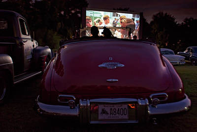 Photograph - The Drive- In by Eilish Palmer