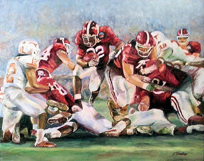 Tuscaloosa Painting - The Drive by Susan Thacker