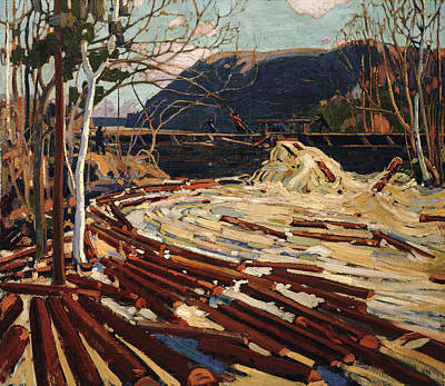 Painting - The Drive by Tom Thomson