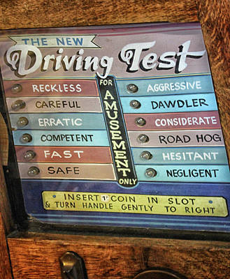 The Driving Test Art Print