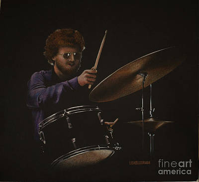 Painting - The Drummer by Lisa Bliss Rush