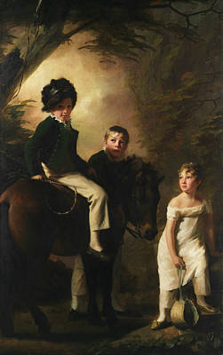 Painting - The Drummond Children by Henry Raeburn