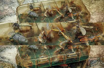 The Dry Fly Box Art Print