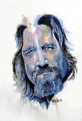 Painting - The Dude Abides by William Walts