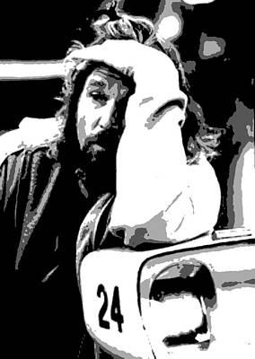 Lebowski Painting - The Dude by Dan Carman