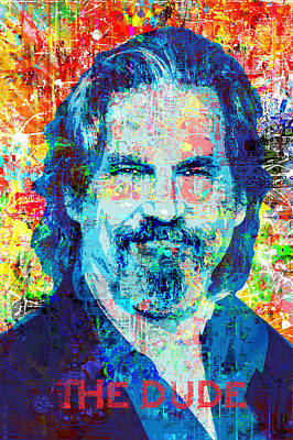 Painting - The Dude by Gary Grayson