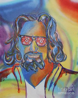 The Dude Art Print by Kevin King