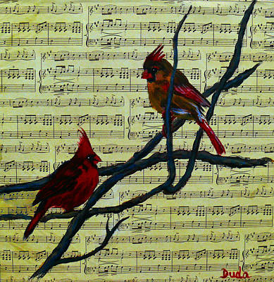 Painting - The Duet by Susan Duda