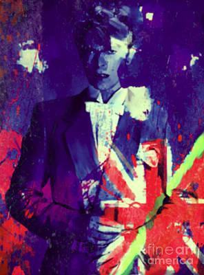 Andywarhol Painting - The Duke David Bowie by Felix Von Altersheim
