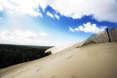 Photograph - The Dune Of Pilat - France by Russell Mancuso