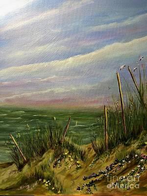 Painting - The Dunes by Cheryl Damschen