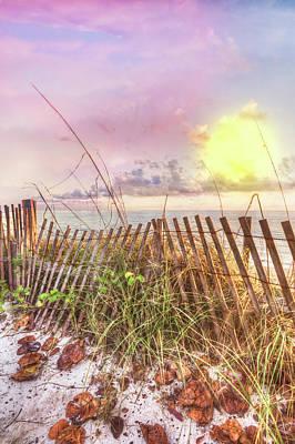 Photograph - The Dunes In Watercolors by Debra and Dave Vanderlaan
