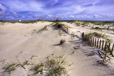 Photograph - The Dunes Of Fort Morgan by JC Findley
