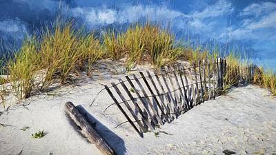 The Dunes Of South Walton Art Print by JC Findley